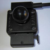 """RAM Mounts obdelníkový držák s AMPS vzorem děr s 1"""" kulovým čepem"""