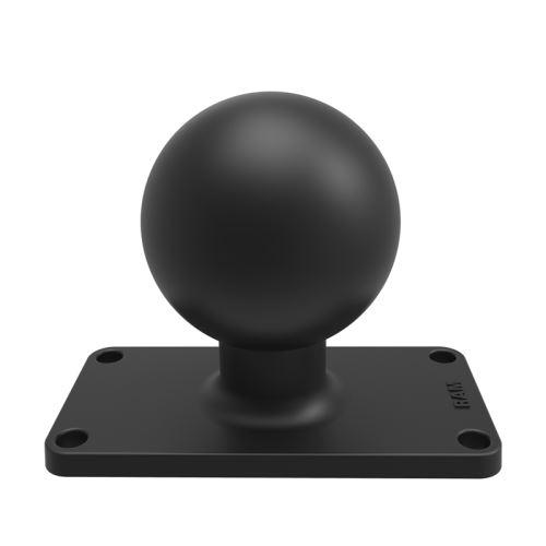 """RAM Mounts Ball Base with 1.5"""" x 3.5"""" 4-Hole Pattern"""