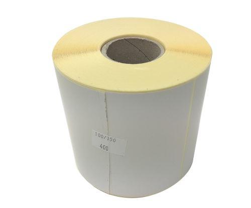 Etiketa na kotouči 100x150mm, papírová