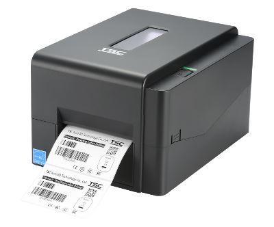 TSC TE210 Stolní TT tiskárna čárových kódů, USB+RS232+LAN+odlepovačka