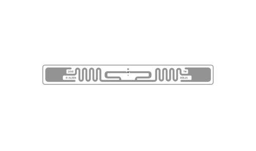 SQUIGGLE - self-adhesive RFID UHF tag