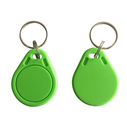 NFC klíčenka - zelená